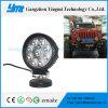 Lâmpada de trabalho redonda do diodo emissor de luz da luz de condução 27W de Deere do caminhão