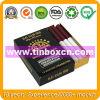 Rechteckiges Zigaretten-Zinn mit dem Schieben des Deckels, Plättchen-Zinn-Kasten