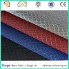 Black PVC Coated Two Tone Colors Diamond Ripstop Jacquard 420d Tecido para Bolsas