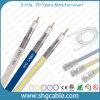 cabo coaxial padrão do protetor Rg11 de 75ohms CATV