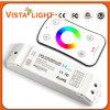 5-24V controlador de controle remoto universal da iluminação do diodo emissor de luz da C.C. RGB
