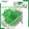 Bolso de compras reutilizable grande de la carretilla del supermercado