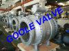 vávula de bola montada muñón del acero de molde de 150lb 3 PCS (GAQ347F)