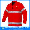 Дешевые изготовленный на заказ греют Hi куртку ватки движения визави красную