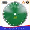 лезвие алмазной пилы лазера 350mm для бетона зеленого цвета быстрого вырезывания