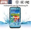 Cas en plastique imperméable à l'eau de couverture de téléphone pour Samsung S5 9600 (RPDOTS5)