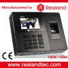 Sistema de gravação biométrico do comparecimento da impressão digital e do cartão