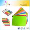 Покрасьте блоки карточки бумажного цвета Cardstock и проложите