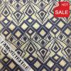 プリズムパターンデザインナイロン綿のレースファブリック