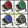 UV 방수 LED 동위는 옥외 빛을%s 18PCS*18W RGBWA+UV 6in1 LEDs 할 수 있다