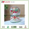 Globo della neve di natale di Polyresin con il pupazzo di neve per il regalo di promozione