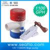 Pompe submersible solaire en plastique de C.C de pompe à eau mini