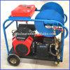 Engine d'essence à haute pression de machine de nettoyage de conduit d'égout de sableuse