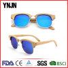 Логос таможни солнечных очков верхнего сегмента Ynjn естественный Bamboo