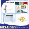 Macchina della marcatura del laser della fibra di Ipg per l'anello, Plastis, PVC, metallo