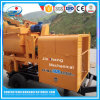 Смеситель емкости высокого качества 15m3/H передвижной конкретный с насосом