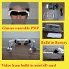Riproduttore video di Eyewear di vetro - esposizione montata capa (P3000)