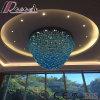 Blaue Glaswasser-Absinken-Projekt-Decken-Lampe mit Vorhalle