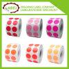 Personalizado Círculo Adhesivo Código de color Sticky Label