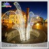 Art-Garten-Motiv-Licht 2017 der Weihnachtsstraßen-Dekoration-LED helles neues