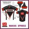 Sublimated feito sob encomenda Printed Short Sleeves Raglan Cycling Jersey com Breathable Fabric