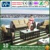 庭の屋外のテラスの柳細工の藤のソファー(TG-008)