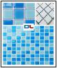Mosaico di vetro per la stanza da bagno