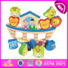 2014 de Houten Reeks van het Stuk speelgoed van de Kinderen van het Saldo van het Blok Vastgestelde, het Populaire Spel van het Stuk speelgoed van de Kinderen van het Saldo, het Hete Stuk speelgoed W11f040 van de Kinderen van de Verkoop Peuter