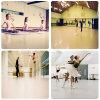 PVCビニールのスリップ防止高品質のダンス部屋のフロアーリング