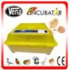 Incubateur automatique d'oeufs de Digitals d'oeufs de la vente en gros 48 mini