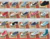 Дешевое Good Quality Men и Lady Mix Style Mix Color Canvas Shoes Stock (FF325)
