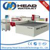 Máquina de corte Waterjet inoxidável do aço inoxidável de máquina de corte da chapa de aço de jato de água