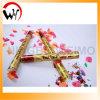 De Popcornpan van de Confettien van het Huwelijk van de Greep van de Hand van het Document van de kleur
