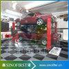 Elevador hidráulico estável resistente do veículo de 4 bornes