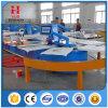 Silk Bildschirm-Drucken-Maschine mit 4/6/8/12/16 Farben für Großserienfertigung