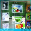 Кристаллический рамка фотоего рекламируя афишу светлой коробки СИД