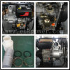 反動のバックアップディーゼル水ポンプ(4 )
