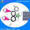 Solar Reading Lamp with Dimmalbe Solar Panel Light for Home Lighting System