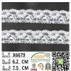 Cordón elástico de Lycra de la nueva llegada para la ropa interior y el sujetador X6679
