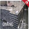 Tubo de acero Q195 y tubo cuadrados galvanizados ERW