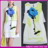 Woman (C-171)のための2015のオリジナルのFavorites Compare Miniライト緑のChiffon Shortの国Style Casual Dress