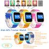 Le meilleur cadeau pour enfant Tracker Montre GPS enfants avec Replaceable Watchband