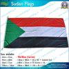 スーダンのフラグ、スーダンの国旗、屋外のフラグ