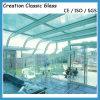 セリウムSGSが付いている構築または壁ガラスのための19mmの緩和されたガラス