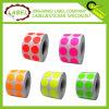 Ronda fluorescente autoadhesivos multiusos Label