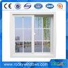 Französisches Art-Doppelt-Panel-schiebendes Aluminiumfenster