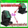 Super schnelles unbegrenztes LED-bewegliches Hauptmatrix-Träger-Verein-Licht