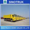 Sinotruk HOWO 6X4 10 짐수레꾼 덤프 팁 주는 사람 쓰레기꾼 트럭
