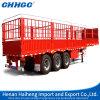 De China del almacenaje de ganado del transporte de la estaca del cargo del carro acoplado semi