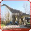 Dinossauro vivo do dinossauro infravermelho artificial de Animatronic do sensor